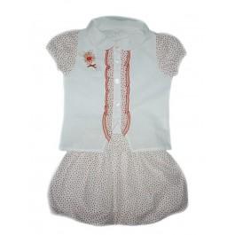 Блуза и юбка Ambaraba лён и хлопок