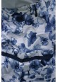 Юбка ARTIGLI синие цветы
