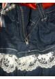 Юбка ARTIGLI джинсовая с воланами
