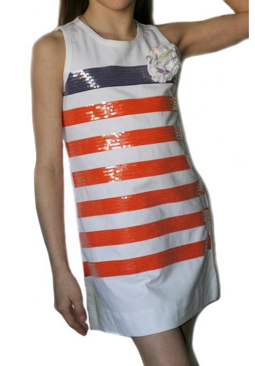 Платье GAIALUNA в полоску