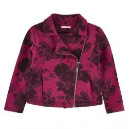 Куртка LIU JO малиновая с цветами