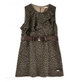 Платье LIU JO леопардовое с бантиком